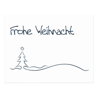Weihnacht alegres… /Merry Christmas Cartão Postal