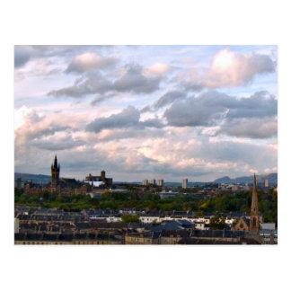 West End Glasgow Cartão Postal