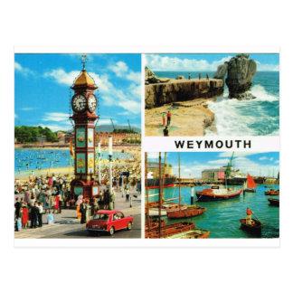 Weymouth Multiview 1ç50 Cartão Postal