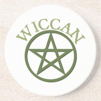 Wiccan Porta Copos De Arenito