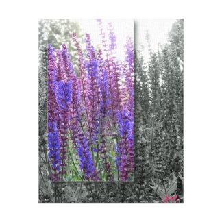 Wildflower do roxo das CANVAS Impressão Em Tela