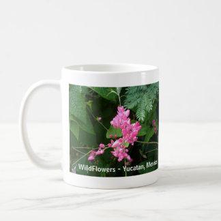 WildFlowers - Iucatão, México Caneca De Café