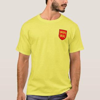 William a camisa da brasão do conquistador