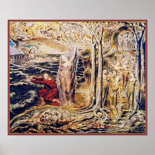 William Blake: De Antro Nympherum [caverna das nin Impressão