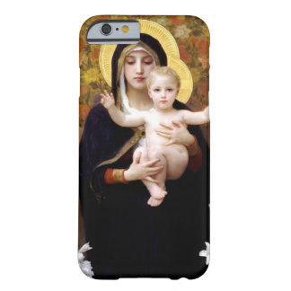 William Bouguereau- Madonna dos lírios Capa iPhone 6 Barely There