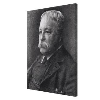 William D. Howells da literatura Impressão De Canvas Envolvidas