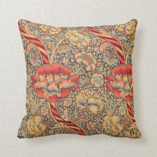 William Morris Wandle para o design de chintz Almofada