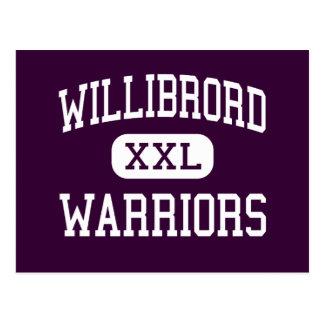 Willibrord - guerreiros - católico - Chicago Cartão Postal