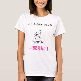 Wimp liberal camiseta