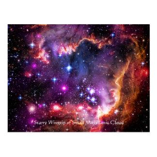 Wingtip estrelado da nuvem de Magellanic pequena Cartao Postal