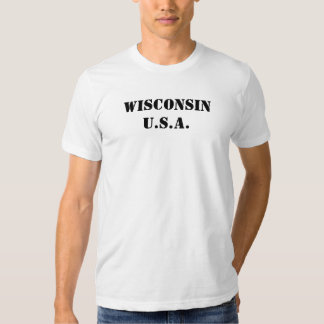 Wisconsin EUA Tshirts