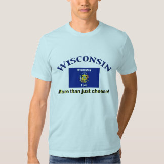 Wisconsin - mais do que o queijo tshirt