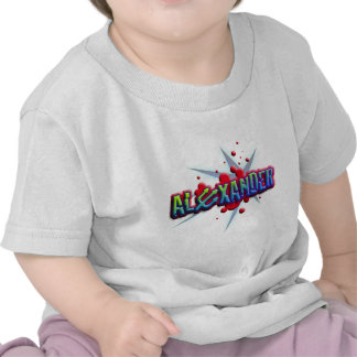 with first name Alexander trident e T-shirt