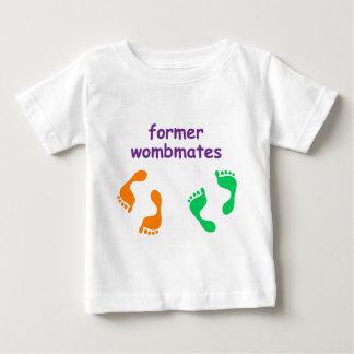 Wombmates anterior t-shirt