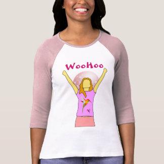 woohoo a camisa das mulheres
