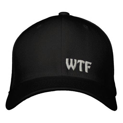 WTF bordou o boné de lãs de Flexfit do chapéu de b