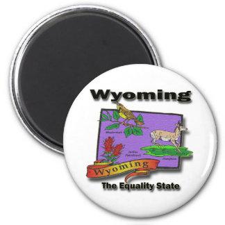 Wyoming o pássaro de estado caro Bush da igualdade Imãs De Geladeira