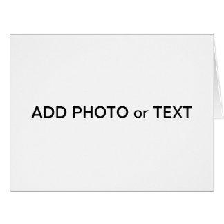 x foto ou texto do cartão do jumbo - criar seus