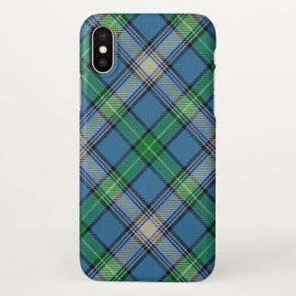 Xadrez de Tartan escocesa de MacDowall do clã Capa Para iPhone X
