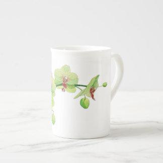 Xícara De Chá Belezas da flor copo pequeno de China - orquídea