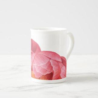 Xícara De Chá Copo da porcelana das belezas da flor