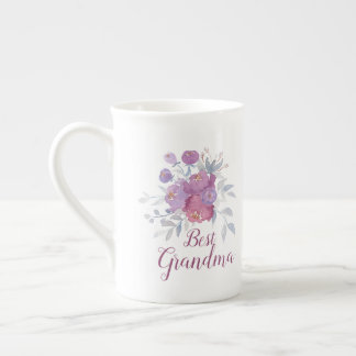 Xícara De Chá Melhor avó CUSTOMIZÁVEL, Nana, gramas, etc…