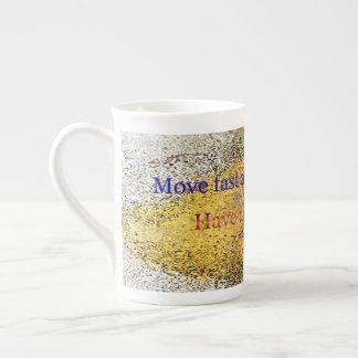 Xícara De Chá mova o teste padrão de ponto