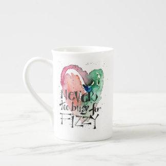 """Xícara De Chá """"Nunca demasiado ocupado para"""" o coração"""
