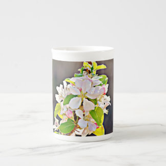 """Xícara De Chá O copo de China de osso/caneca de """"árvore Apple"""