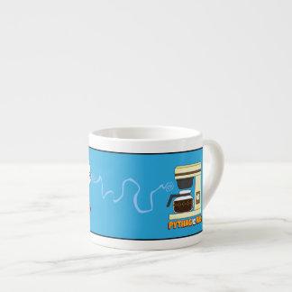 Xícara De Espresso Acorde o copo do café de Pythagoras