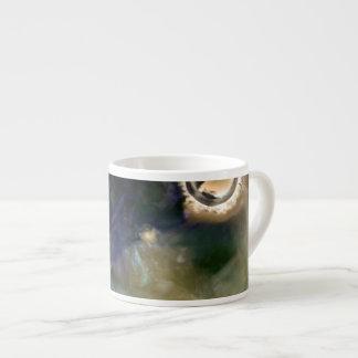 Xícara De Espresso Aquário astuto abstrato da natureza