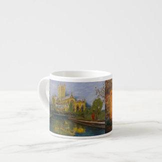 Xícara De Espresso Catedral dos poços - duas pinturas