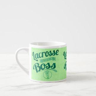 Xícara De Espresso O Lacrosse gosta de um chefe