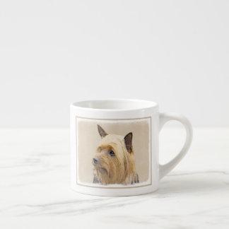 Xícara De Espresso Terrier de seda