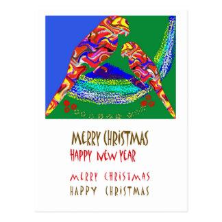 Xmas NewYear feliz de 32 Felizes Natais Cartão Postal