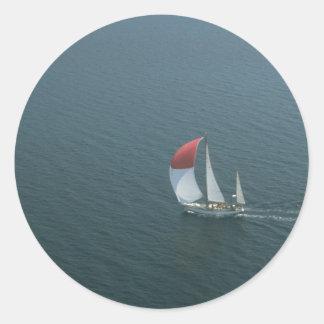 Yachting no lago do d'Or dos sutiãs, Nova Escócia, Adesivo