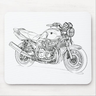Yam XJR1300 Mouse Pad