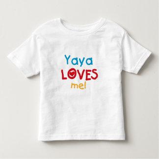 Yaya ama-me camiseta e presentes