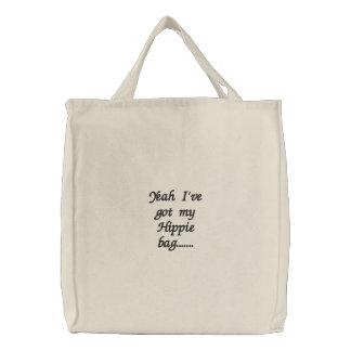 Yeah I've obteve meu saco do Hippie ....... Bolsas De Lona