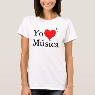 Yo Amo Musica Tshirts