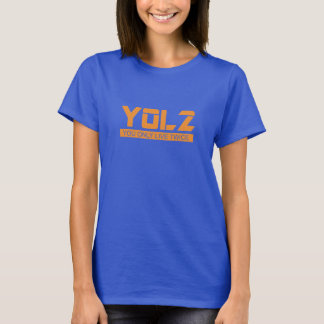YOL2 você vive somente duas vezes laranja das Camiseta