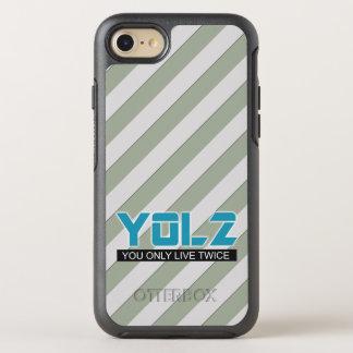 YOL2 você vive somente duas vezes listras de Meme Capa Para iPhone 8/7 OtterBox Symmetry