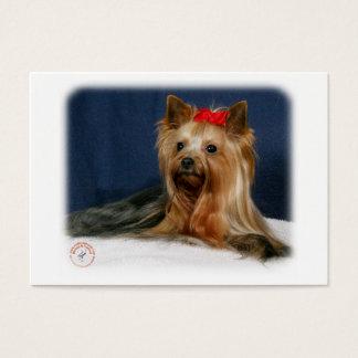 Yorkshire terrier 9Y110D-064 Cartão De Visitas