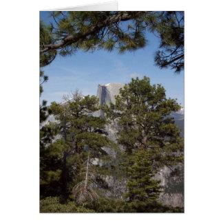 Yosemite na primavera:  Meia abóbada Cartão De Nota