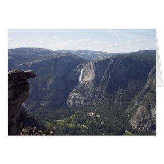 Yosemite no primavera:  Opinião do ponto da Cartão De Nota
