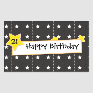 You are the star Happy birthday sticker
