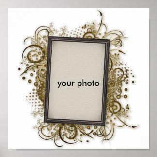Your photo frame impressão