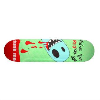 You've obteve a vermelho em você… funk_me. shape de skate 21,6cm
