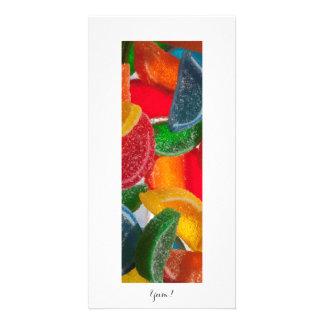Yum! Foto dos doces Cartão Com Foto