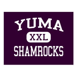 Yuma - trevos - católico - arizona de Yuma Cartão Postal